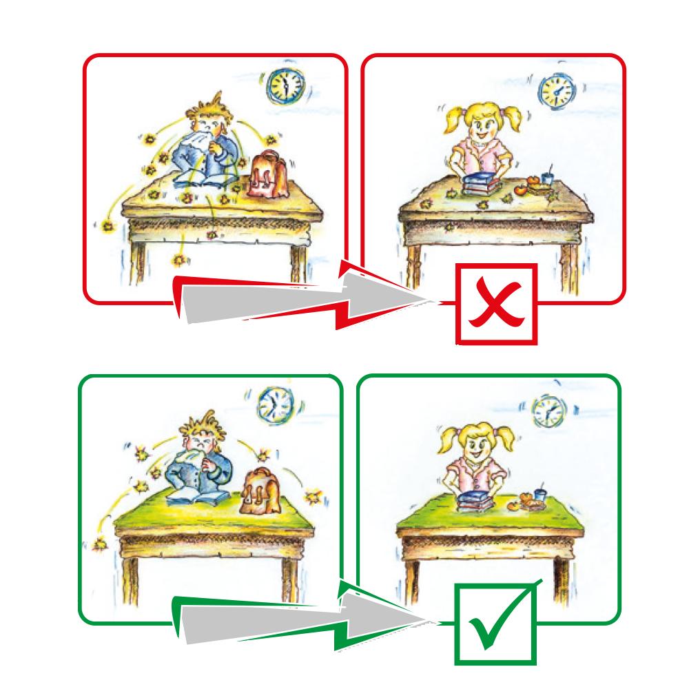 healthyPad antibakterielle Tischunterlage